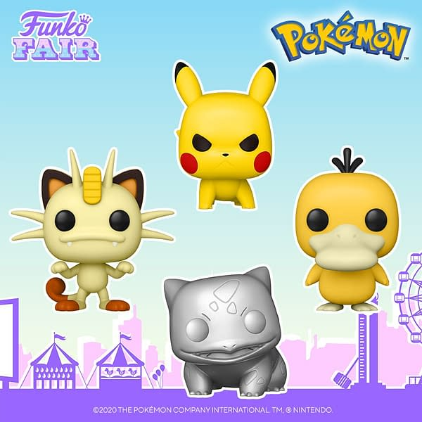 Funko Fair Reveals - Assassin's Creed, Sekiro, and Pokemon