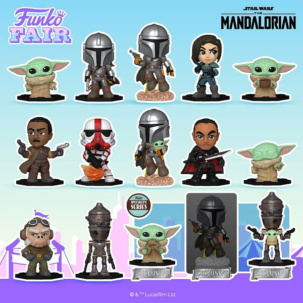 Funko Fair Star Wars Reveals - Pop Keychains & Mystery Minis
