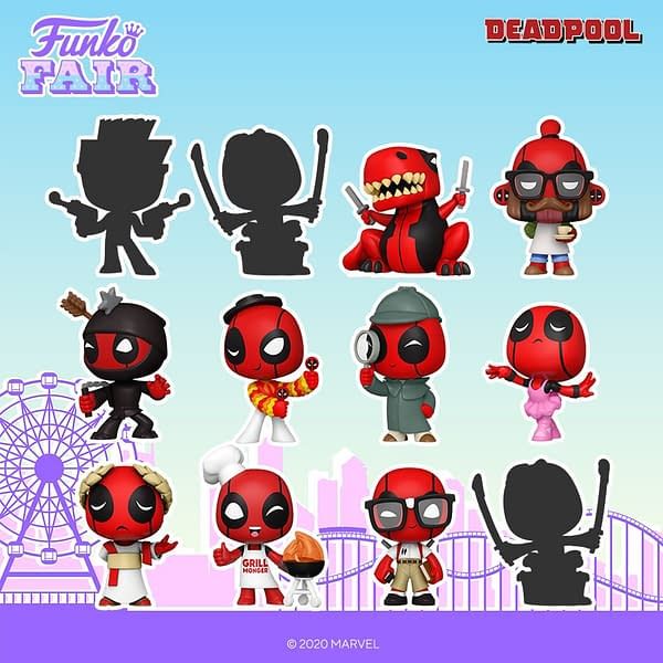 Deadpool Plays Dress-up as Funko Unveils 30th Anniversaty
