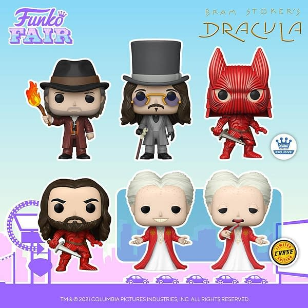 Funko Keeps Gothic Horror Alive with Bram Stroker's Dracula Pops
