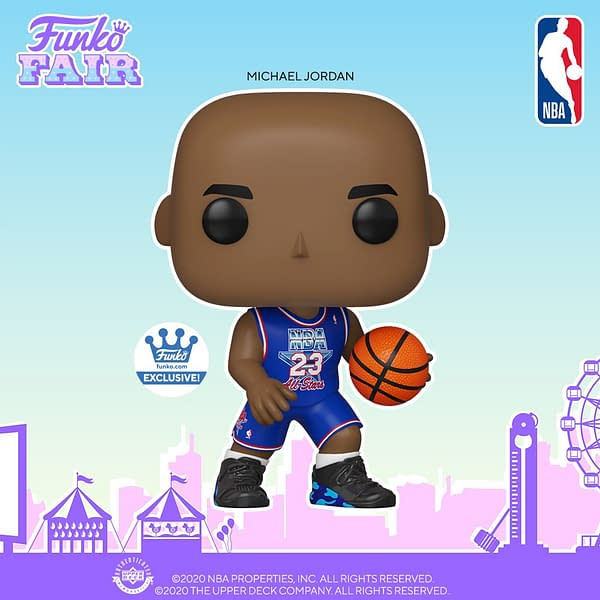 Funko Fills Out Their NBA Roster with New Funko Fair Reveals