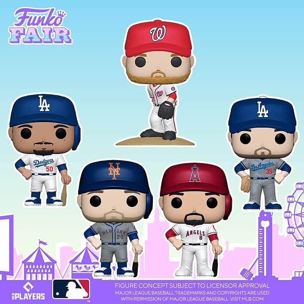 Funko Hits a Home Run With Their MLB Funko Fair Reveals
