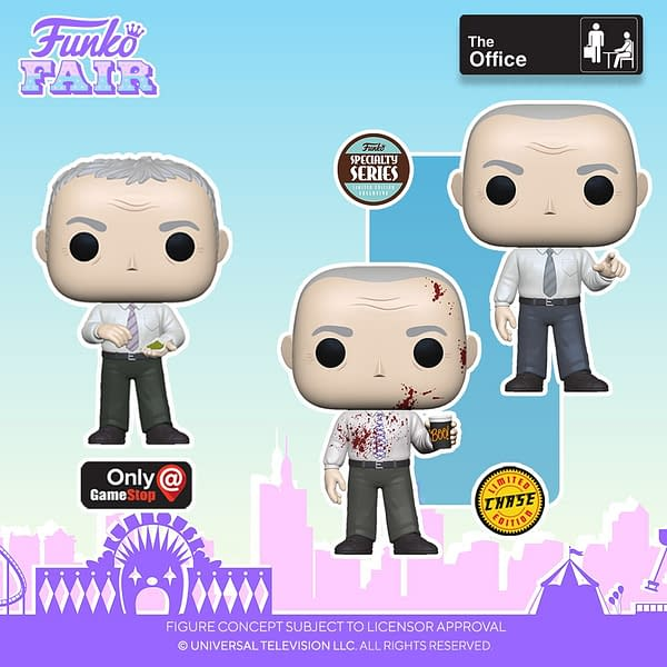 The Office Starts of Day 6 of Funko Fair Television Reveals