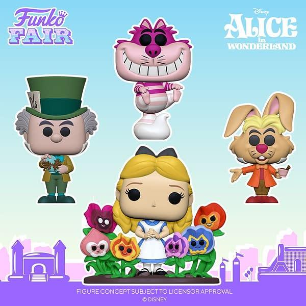 Funko Announces 70th Anniversary Pops for Alice in Wonderland