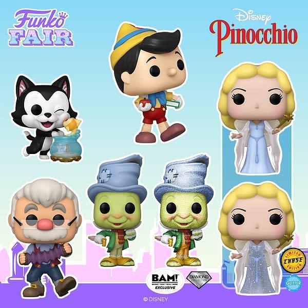 Disney's Pinocchio Getting New Pop Vinyls From Funko