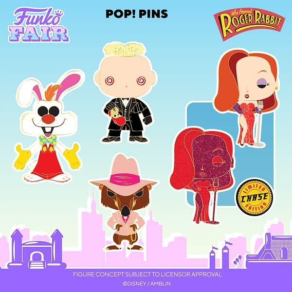 Funko Fair Disney- Artist Series Mickey and Who Framed Roger Rabbit