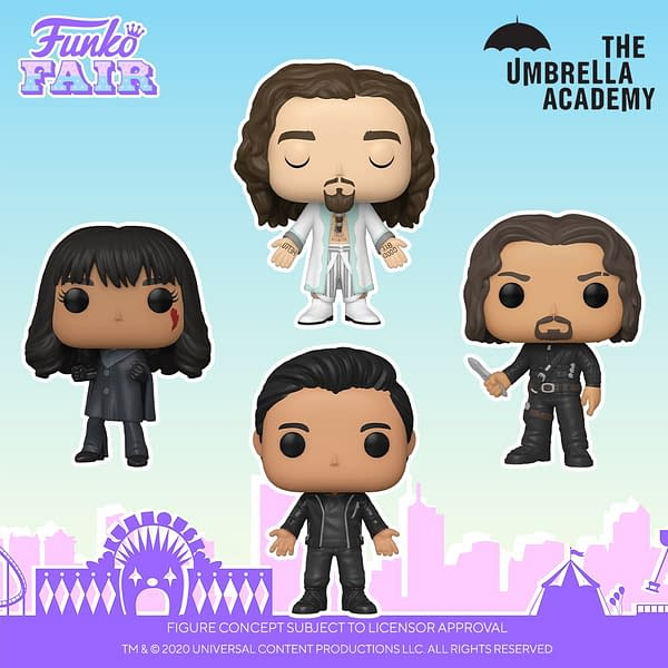 The Umbrella Academy Season 2 Pops Announced at Funko Fair