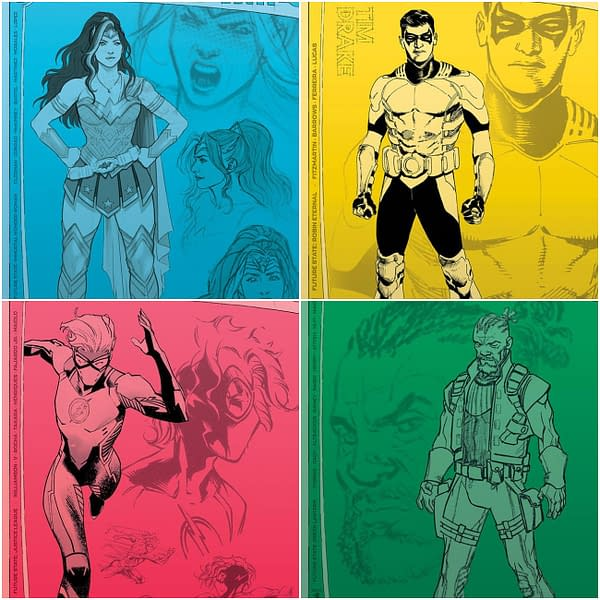 Four More Second Printings For DC Future State Comics