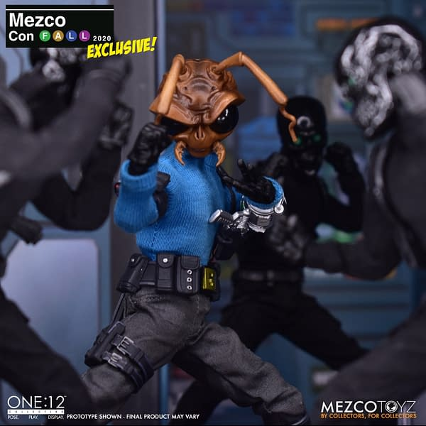 Will the Black Skull Death Brigade Be Mezco Toyz Next One: 12 Release?
