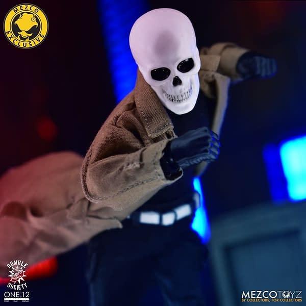 Mezco Toyz Secretly Dropped A 500 Piece Rumble Society Figure