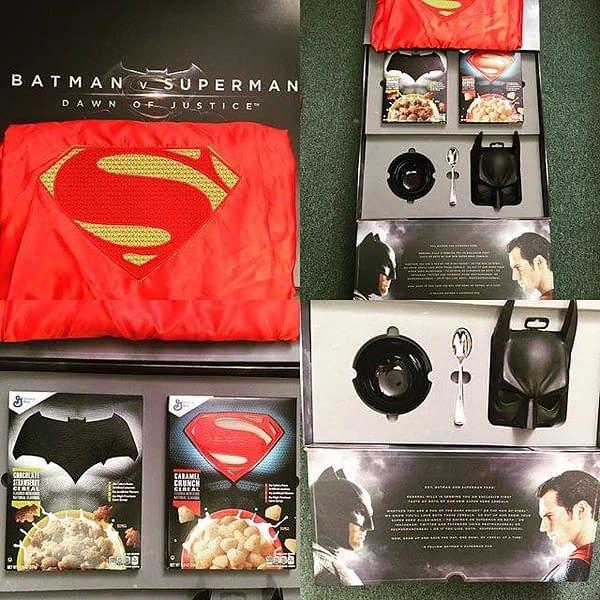 Exclusive Batman V Superman Cereal Full Set