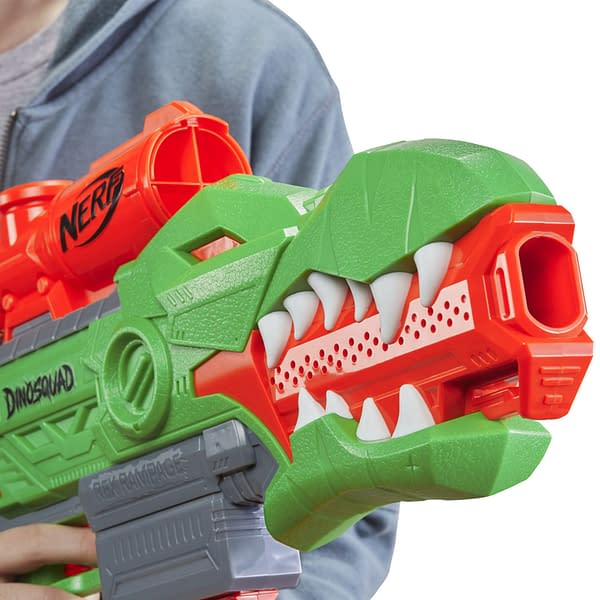 NERF Goes Prehistoric With New Dino-Squad Blasters