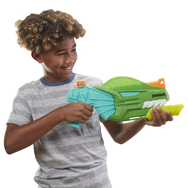 The Jurassic Period Gets Wet and Wild With New NERF Super Soaker