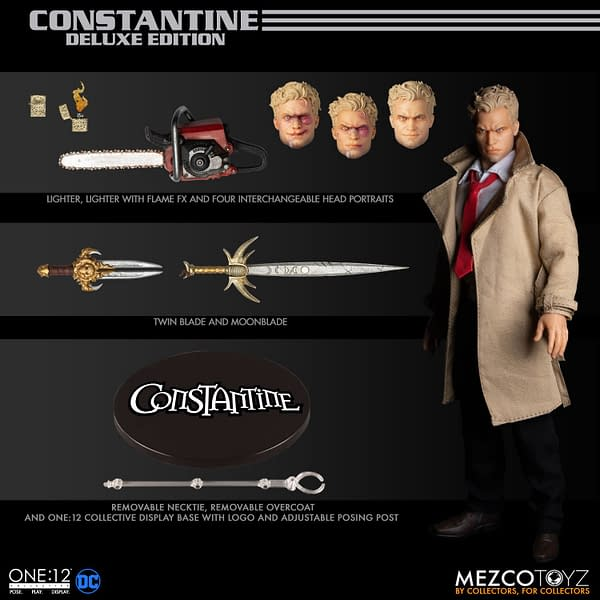 Constantine Is Ready for a Bloody Good Time With Mezco Toyz
