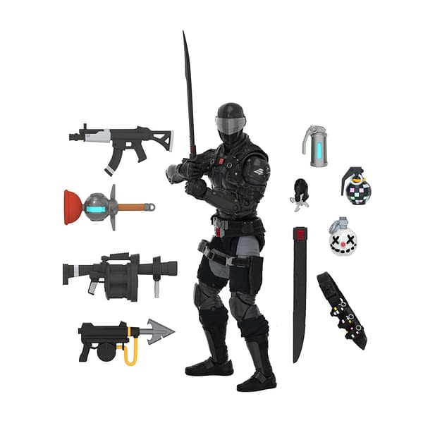 Fortnite and G.I. Joe Collab Snake Eyes Figure Arrives From Hasbro