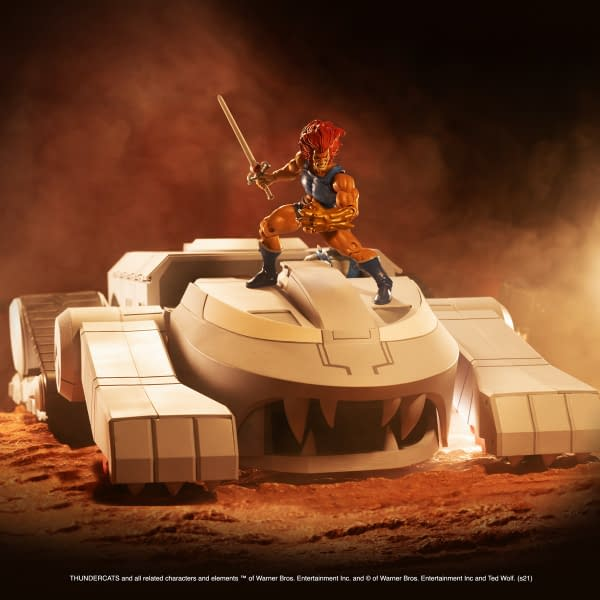 Super7 Reveals Thundercats ThunderTank: $450, Orders Start Feb. 2