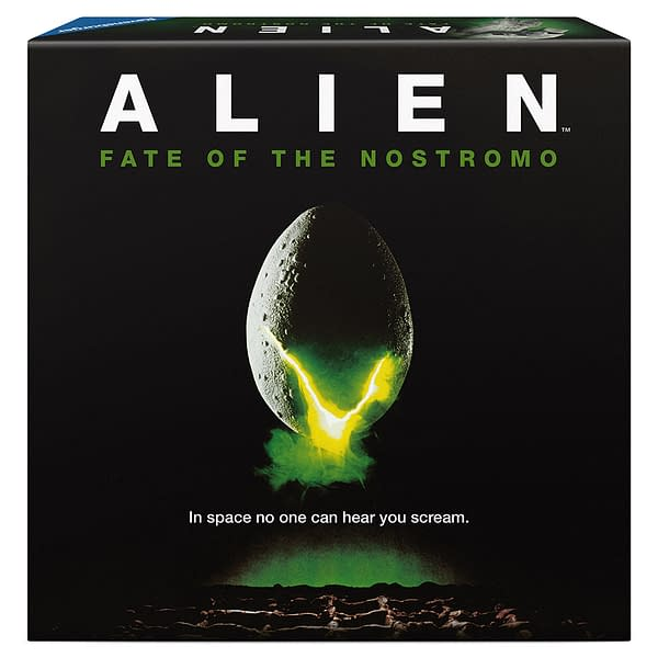 A look at the box art for Alien: Fate of the Nostromo, courtesy of Ravensburger.