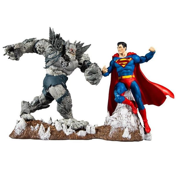 DC Multiverse Superman Vs Devastator McFarlane Toys 2-Pack Arrives