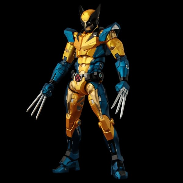 Wolverine Gets An Iron Man Suit Upgrade From Sentinel