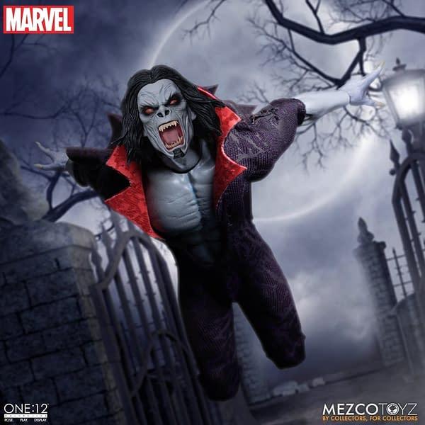 Morbius The Living Vampire Arrives at Mezco Toyz