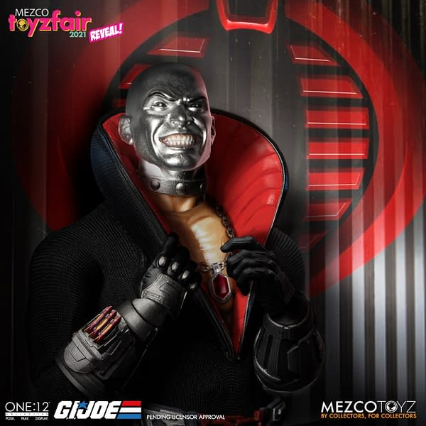 Mezco and Hasbro Unite as Power Rangers and G.I. Joe FIgures Teased
