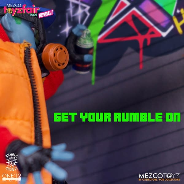 Mezco Toyz Teases New Rumble Society Figures Are on the Way