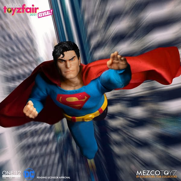 Mezco Toyz Fair 2021 Unveils New One: 12 Collective Figures