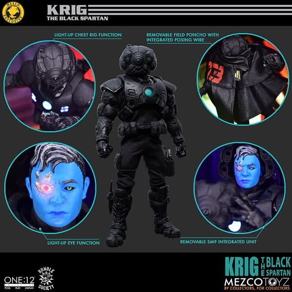 Mezco Toyz Releases Exclusive Toyz Chest That Includes The Krig