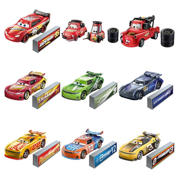 NASCAR Gets Animated As Mattel Announces Pixar's Cars Crossover