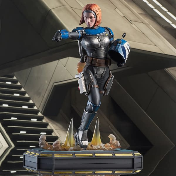 Bo-Katan Wants to Restore Mandalore With New Gentle Giant Statue