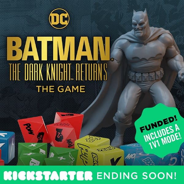 Batman: The Dark Knight Returns' Kickstarter campaign is ending quite soon!