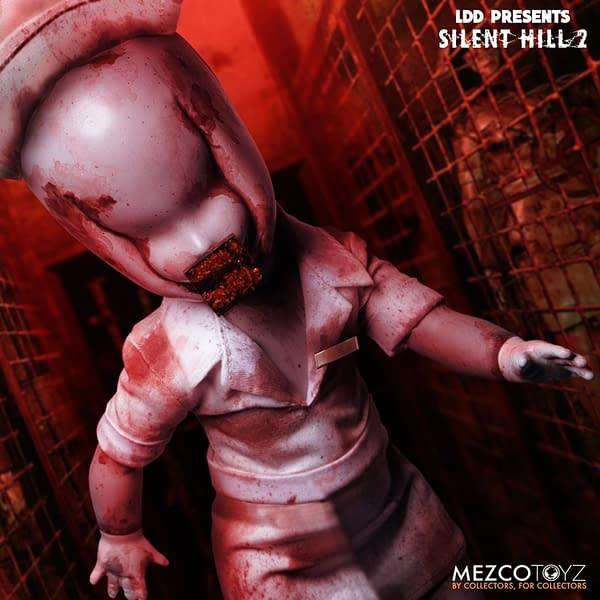 Silent Hill 2 Bubble Head Nurse Returns With Mezco Toyz LDD