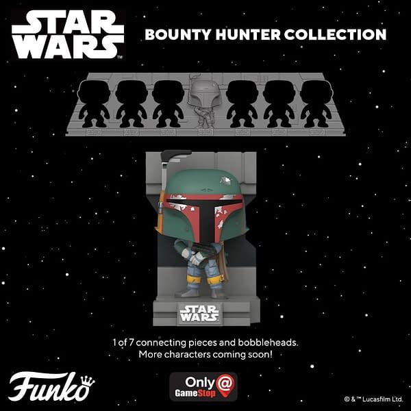 Boba Fett Kicks Off New Funko Pop Bounty Hunter Collection