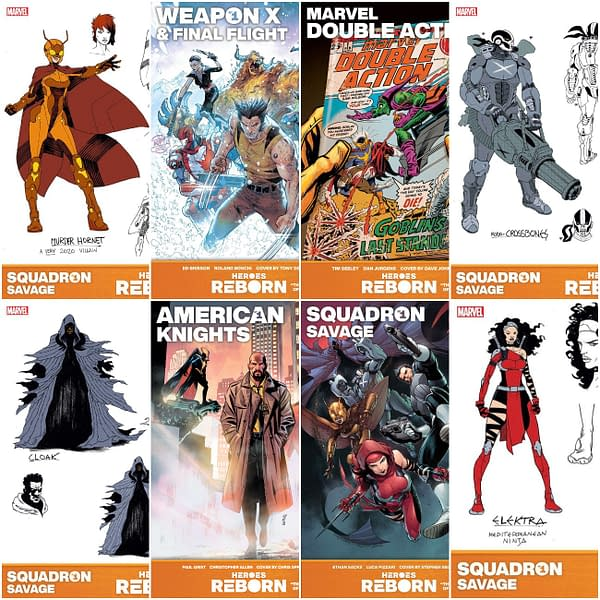 Four More Heroes Renorn Titles From Marvel Co
