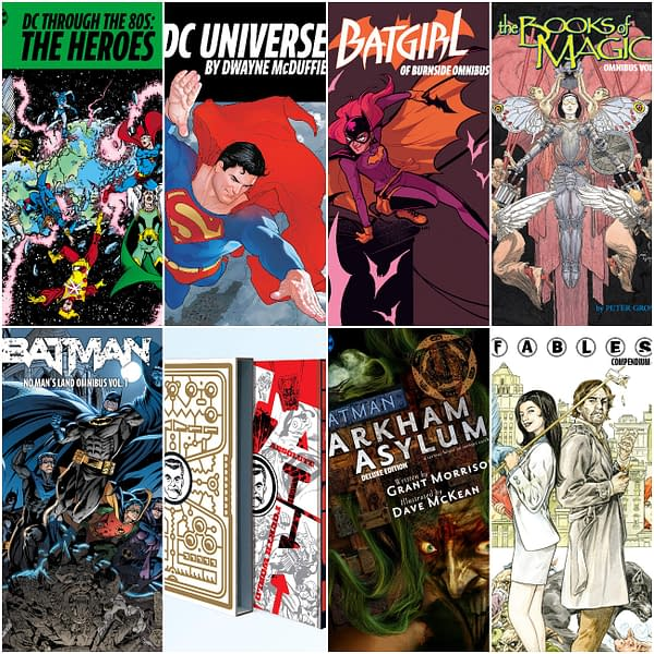 Burnside Batgirl Omnibus And More Big Books For 2021