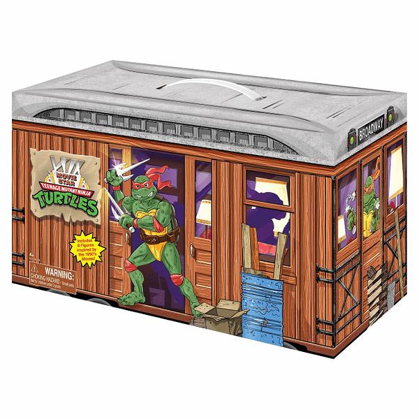 Teenage Mutant Ninja Turtles 1990's Playmates Target Set Revealed