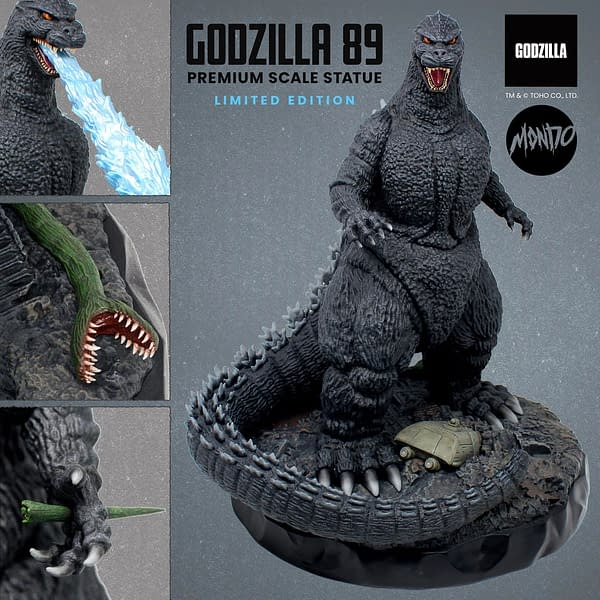 Godzilla Returns to 1989 for New vs. Biollante Statue From Mondo