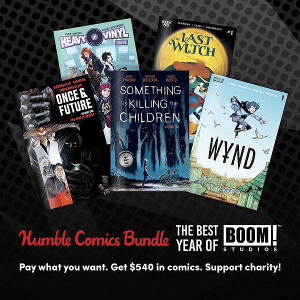 Purchase The BOOM! Studios Humble Comic Bundle Starting Today