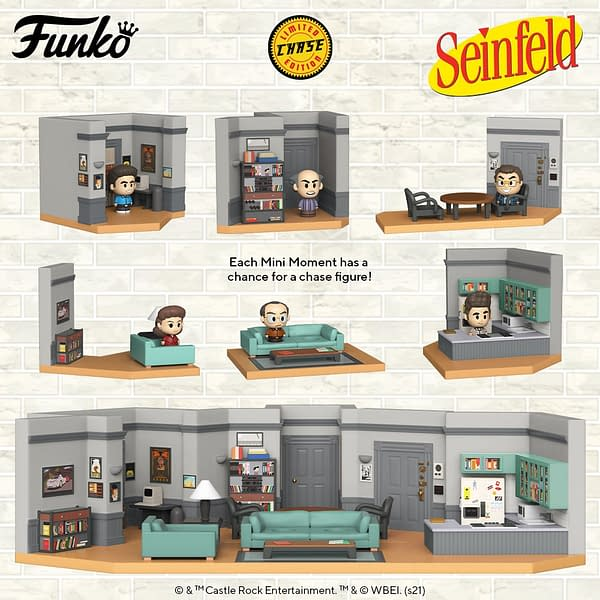 Seinfeld Apartment Comes To Life With New Funko Collectible