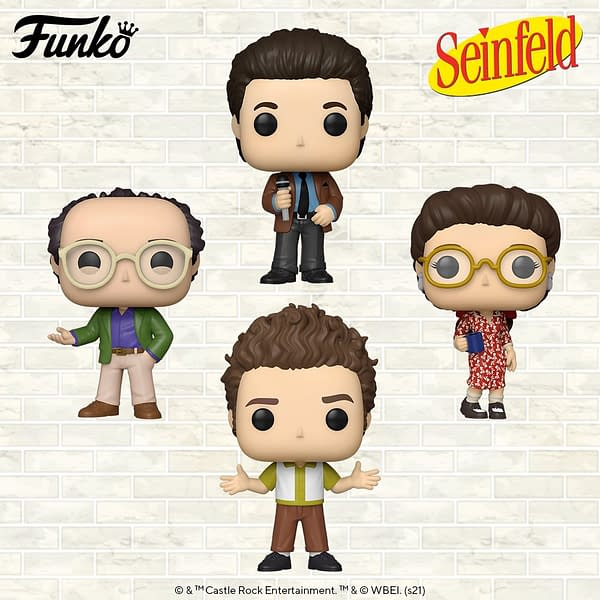 Funko Reveals Huge Assortment of Seinfeld Pops Are Coming