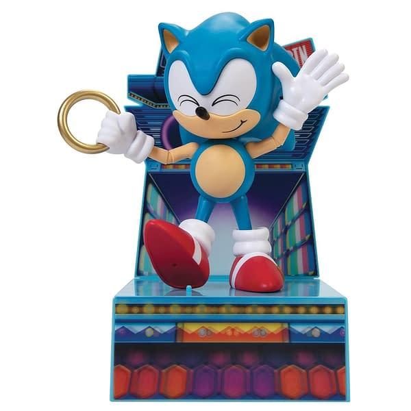 Sonic the Hedgehog Gets Speedy New Figure From Jakk's Pacific