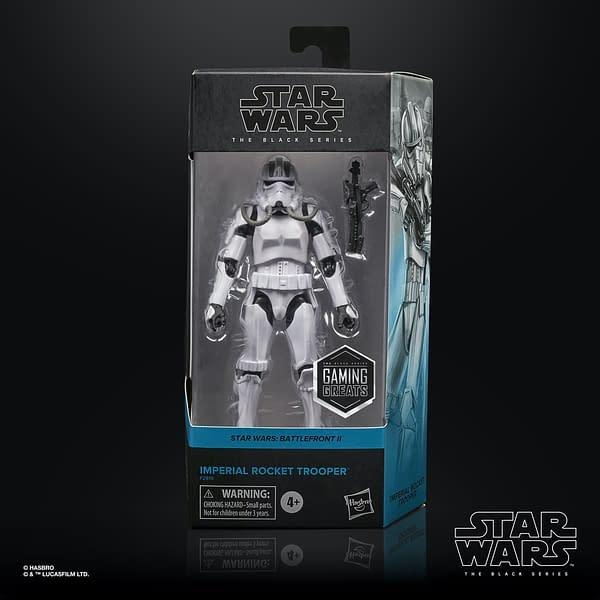 Star Wars Imperial Rocket Trooper Get Exclusive Black Series Figure