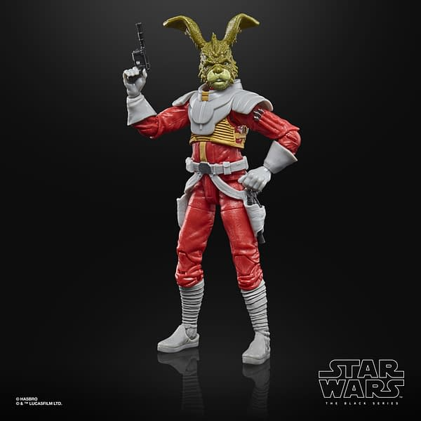 Hasbro Celebrates Star Wars With Carnor Jax and Luke Comic Figures