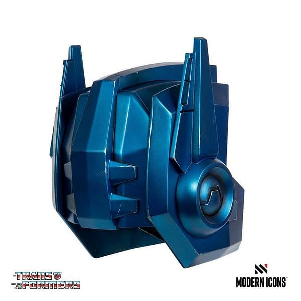 Transformers Optimus Prime Replica Helmet Coming From Modern Icons