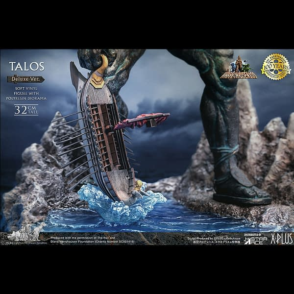 Jason and the Argonauts Talos Statue Coming From Star Ace Toys