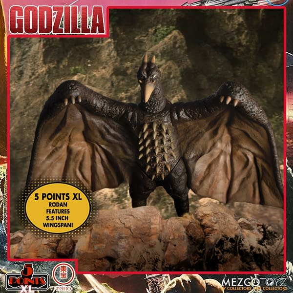 Godzilla Destroy All Monsters Receives 5 Points Box Set From Mezco Toyz