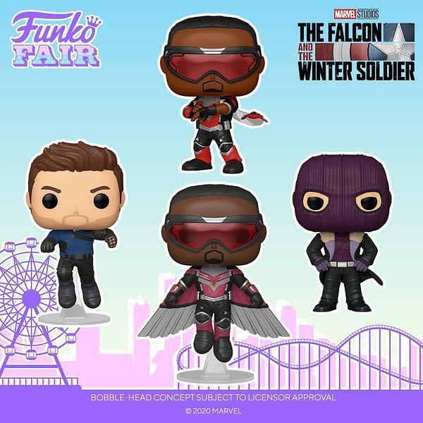Sam Wilson Captain America Lands In New Wave of Marvel Funko Pops