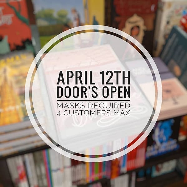 English Comic Shops Open Up Tomorrow - After Three Months