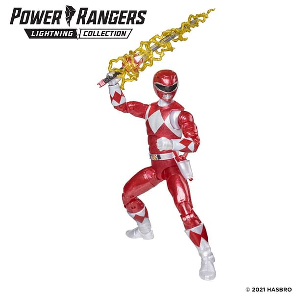 Mighty Morphin Metallic Power Rangers Coming From Hasbro