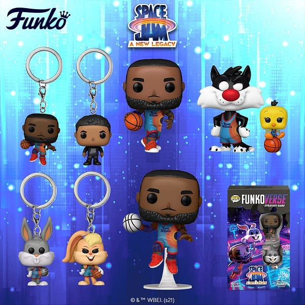 Funko Gets Ready For Space Jam: A New Legacy With New Pops